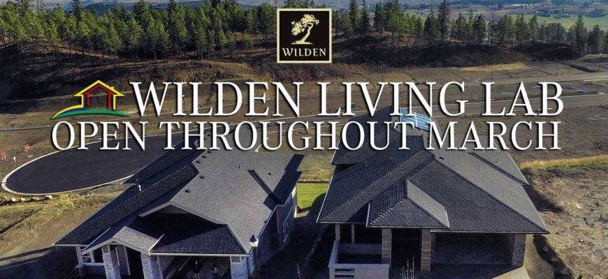 Wilden Living Lab Homes Now Open 3 Days a Week