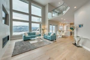 AuthenTech Homes - Kelowna New Homes, Wilden Showhome Living Area