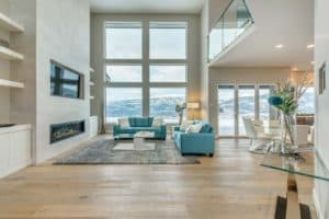 AuthenTech Homes - Kelowna New Homes, Wilden Showhome Spacious Living Area