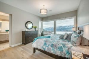 AuthenTech Homes - Kelowna New Homes, Wilden Showhome Master Bedroom