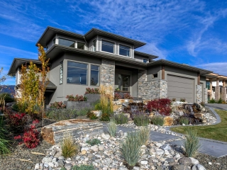 Authentech Homes Rocky Point Showhome front view image