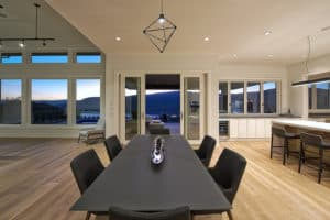 Dining Room Table - Wilden Showhome, Kelowna BC