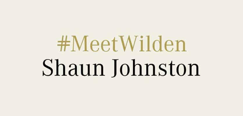 #MeetWilden  – Shaun Johnston