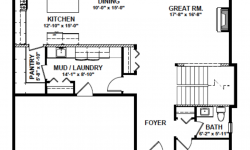 Monashee floor plan - Main