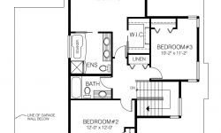 Newburch floor plan - Upstairs
