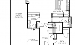 Newburch floor plan - Main