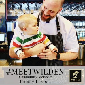 Chef Jeremy Luypen picture- Meet Wilden
