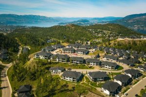 Lost Creek Point Townhome Development arial image