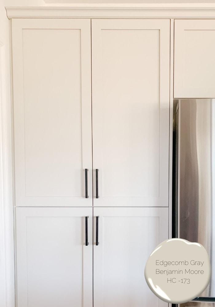 Kitchen cabinet colour image